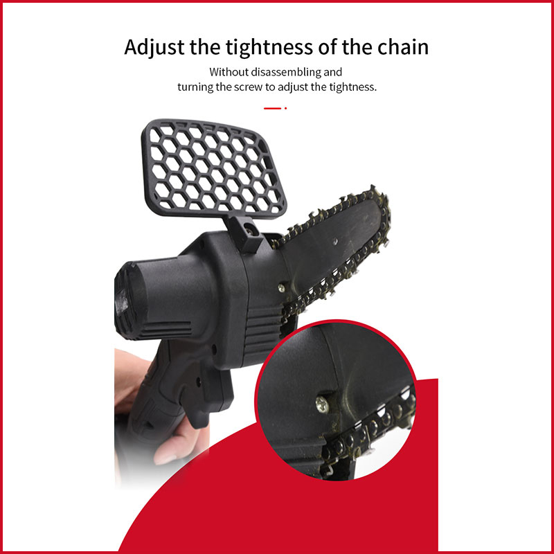 electric hand-held chainsaw
